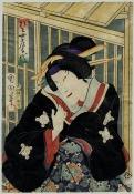 Escena de Kabuki. Grabado Ukiyo-e