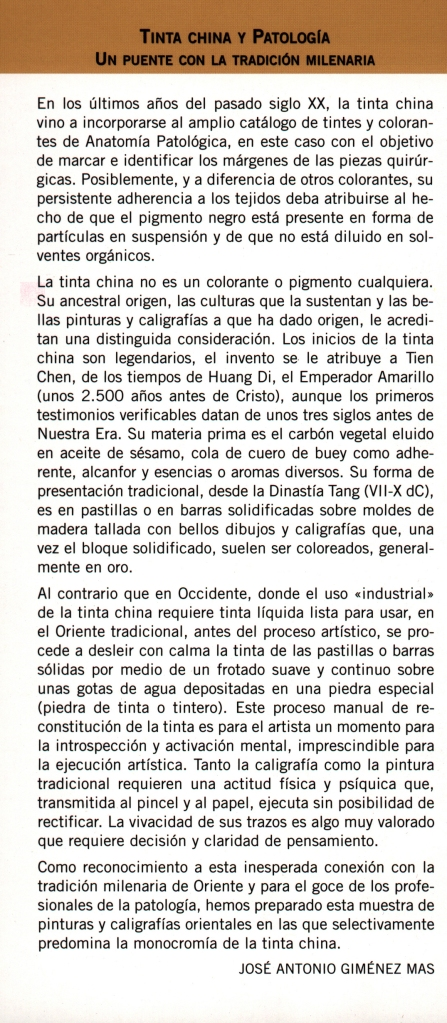 Tinta china y Patología2